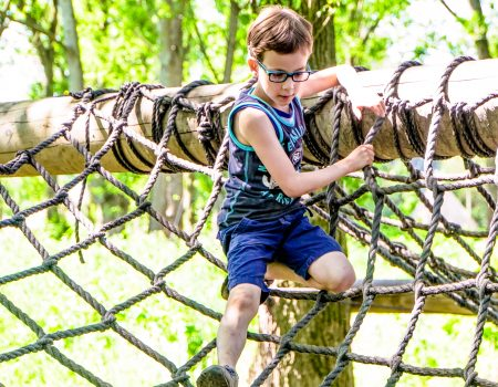 Kinderfeestje vlot & survival