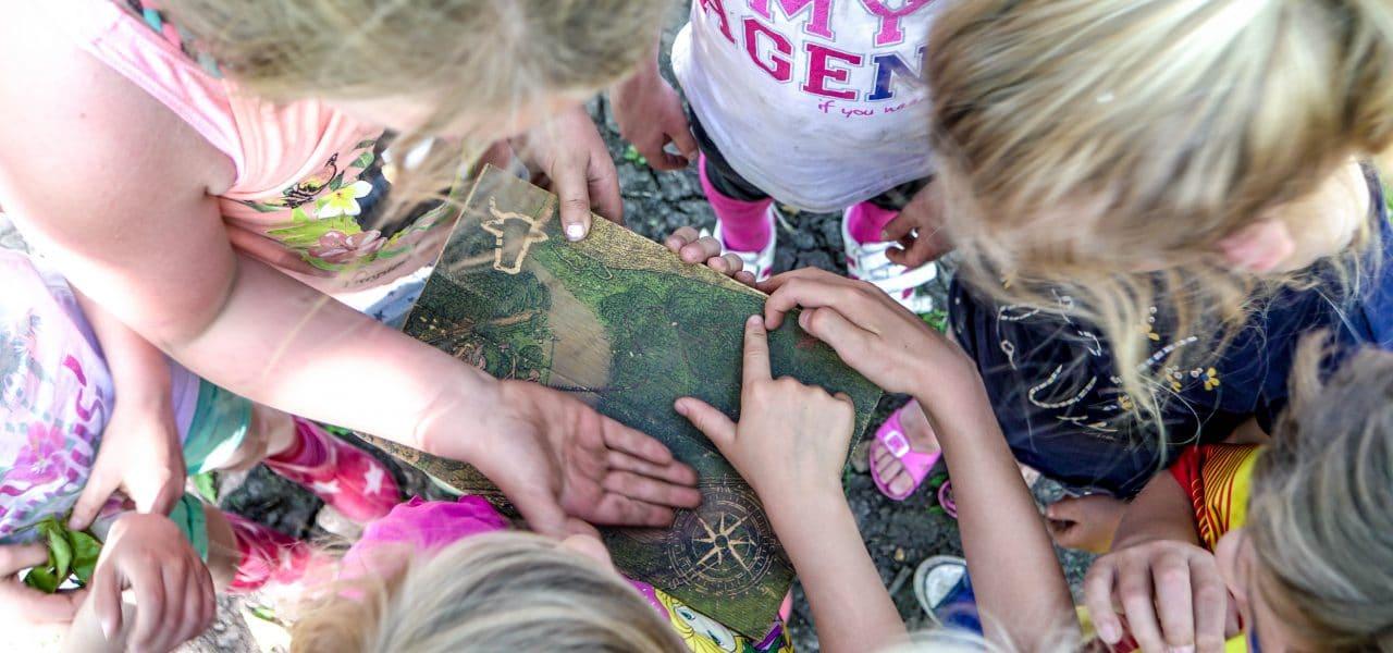 Kinderfeestje Speurtocht