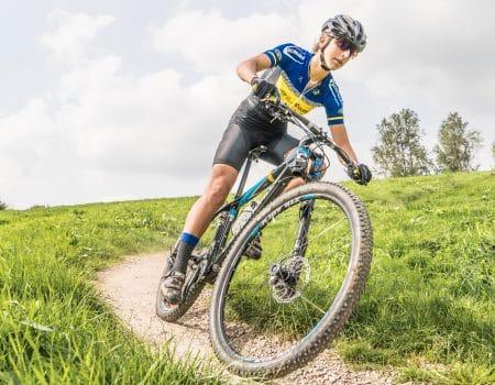 Nederlands kampioen mountainbiken traint bij Outdoor Valley