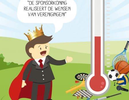 Outdoor Valley in het sponsorboekje van de Sponsorkoning