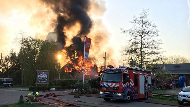 Brand bij Outdoor Valley – Activiteiten gaan door
