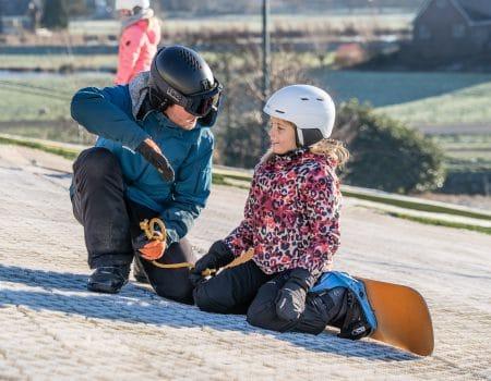 Gratis proefles skiën en snowboarden