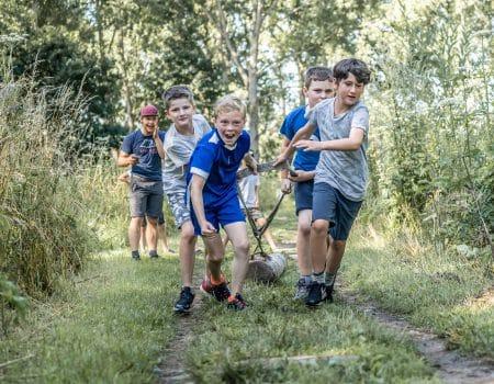 Ga mee op outdoor kamp