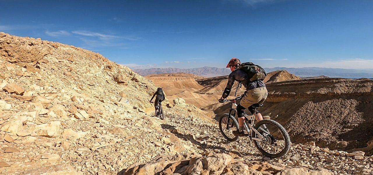 Mountainbiken in Israel
