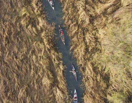 3 dagen kanoën Weerribben