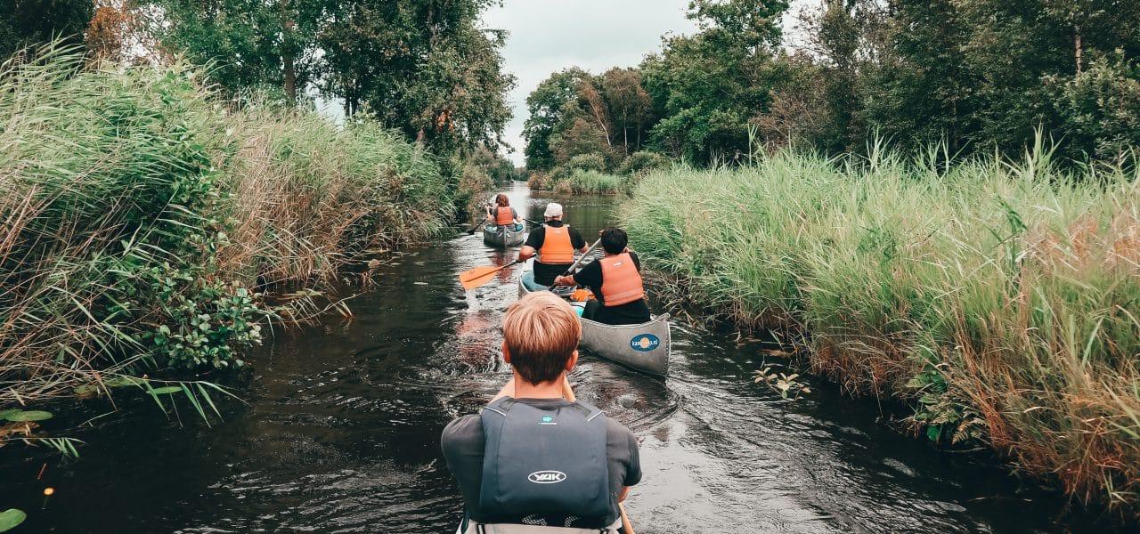 Kanotrektocht Nederland